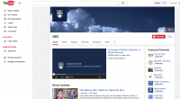 screenshot of UBC YouTube channel