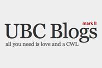 UBC blog logo