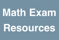 Math Exam Resource Wiki