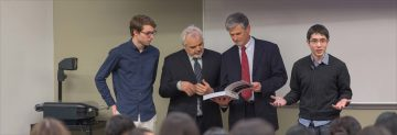 Minister of Advanced Education Visits UBC Class to Talk Open Textbooks