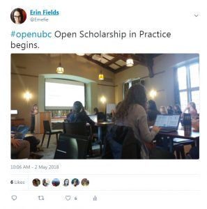Open Scholarship in Practice Symposium Round-up
