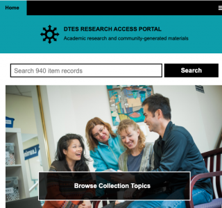 DTES Research Access Portal