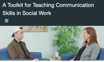 Demonstration Videos and Teaching Guide for Core Communication Skills in Social Work Practice